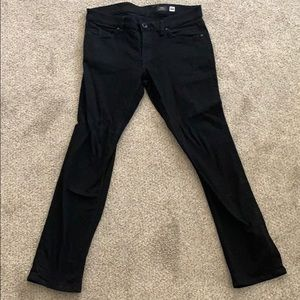 Men's Black Volcom Vorta Slim Straight - Size 33